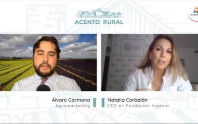 Natalia Corbalán, CEO de Fundación Ingenio, habla en 'Acento Rural' sobre el Anillo Protector Ambiental como solución al Mar Menor