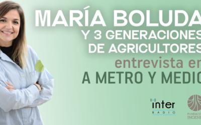 Los agricultores del campo de Cartagena en el programa de Radio Inter 'A metro y medio'