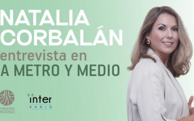 La Fundación Ingenio en el programa 'A metro y medio' de Radio Inter