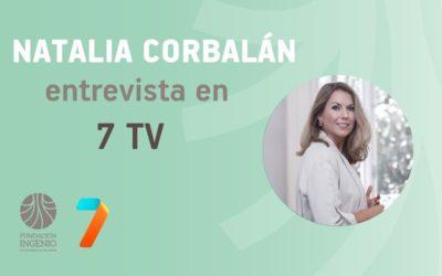 """Natalia Corbalán en 7 TV: """"La agricultura es parte de la solución al problema medioambiental del Mar Menor"""""""