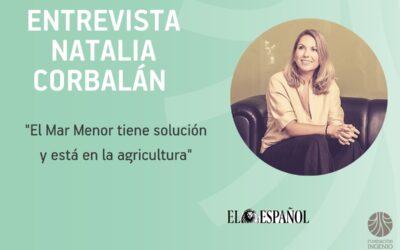 """Natalia Corbalán: """"El Mar Menor tiene solución y está en la agricultura"""""""